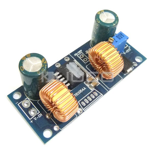 Auto Boost Buck Converter DC 4.5~32V to 1.25~32V 4A Adjustable Voltage Regulator DC 5V 12V 24V Charging Module/Adapter/Driver 5pcs lot intersil isl8121irz isl8121qfn 3v to 20v two phase buck pwm controller with integrated 4a mosfet drivers