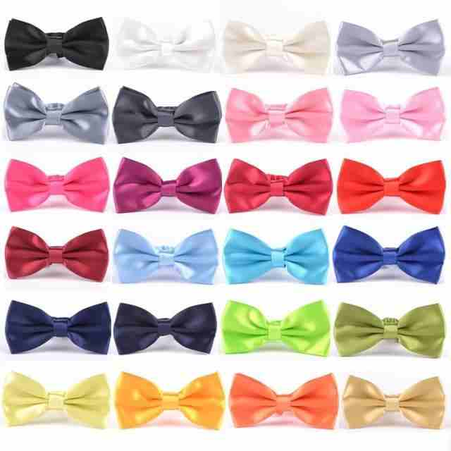 Men Classic Wedding Bowtie Necktie Bow Tie Novelty Tuxedo Fashion Adjustable for man blazer suit