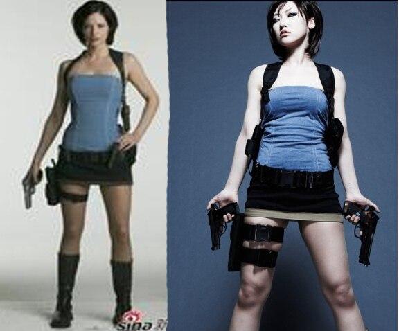Biohazard 3 Resident Evil 3 Heroine Jill Valentine Cosplay Costume