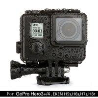 Newest Black Diamond 45m Diving Waterproof Case For GoPro Hero 4 3 EKEN H5S H6S H7S