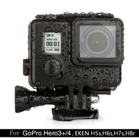 Newest Black Diamond 45m Diving Waterproof Case For GoPro Hero 4 3 EKEN H5S H6S H7S