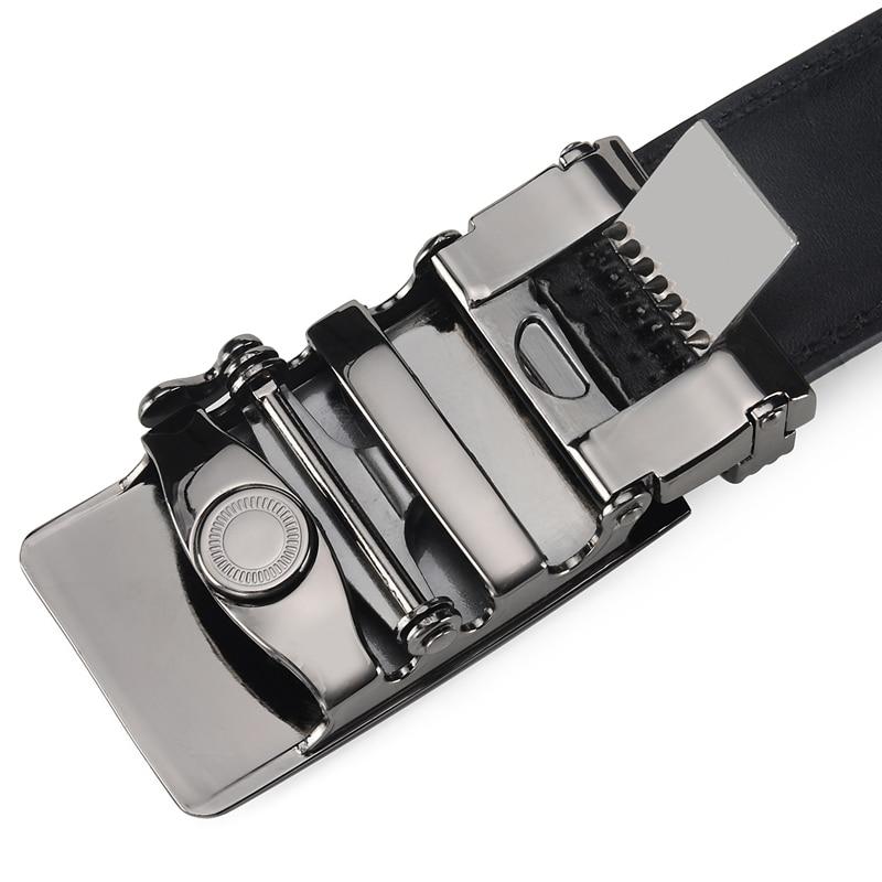 DINISITON Lelaki Belt automatik strap Belt cowhide Kulit Designer - Aksesori pakaian - Foto 4