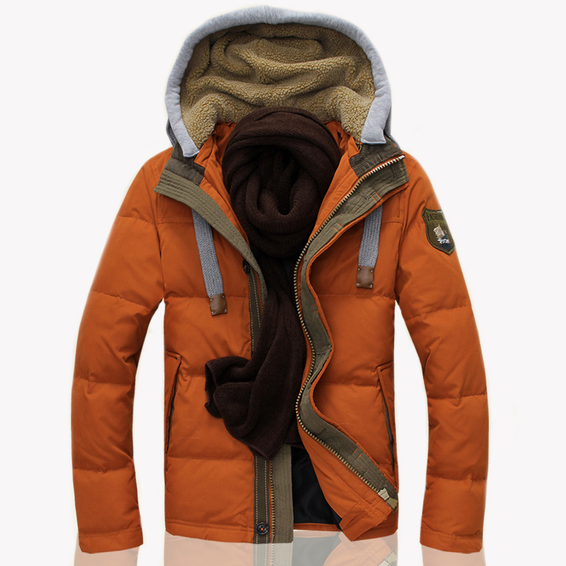 ФОТО 2017 New Mens Parka Clothing Thicking Men Jacket Coat With Hood high Quality Winter Jacket Men Duck Down Jacket