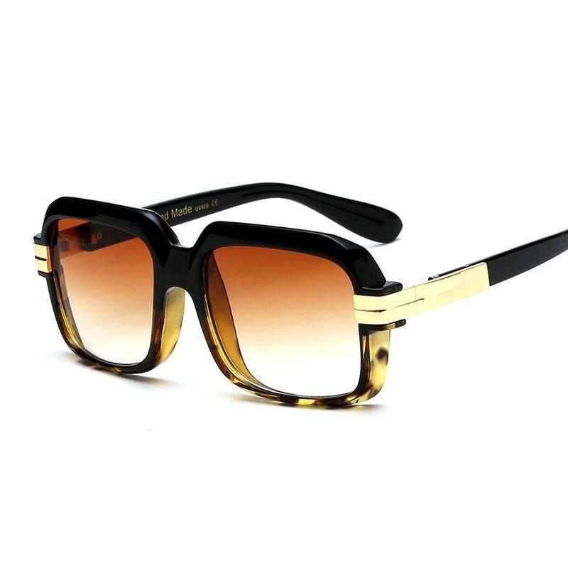 Männer Frauen Trend Retro Platz Outdoor Sonnenbrille Luxus Hohe - Bekleidungszubehör - Foto 5