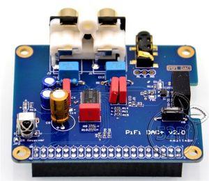 Image 2 - PCM5122 Raspberry pi B + 2/3B HIFI DAC + звуковая карта цифровой аудио модуль интерфейс I2S специальная музыка Volumio PIR