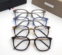 NEW Style High Quality Thom Brand Eyeglass Frames Men Women TB912 Black Color Optical Glasses With