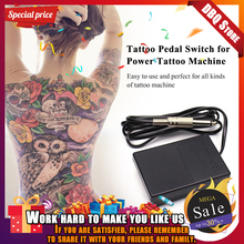 Tattoo Machine Footswitch Foot Switch Pedal Controller For Power Machine Gun Tattoo Footswitch Control Tattoo Power Supply