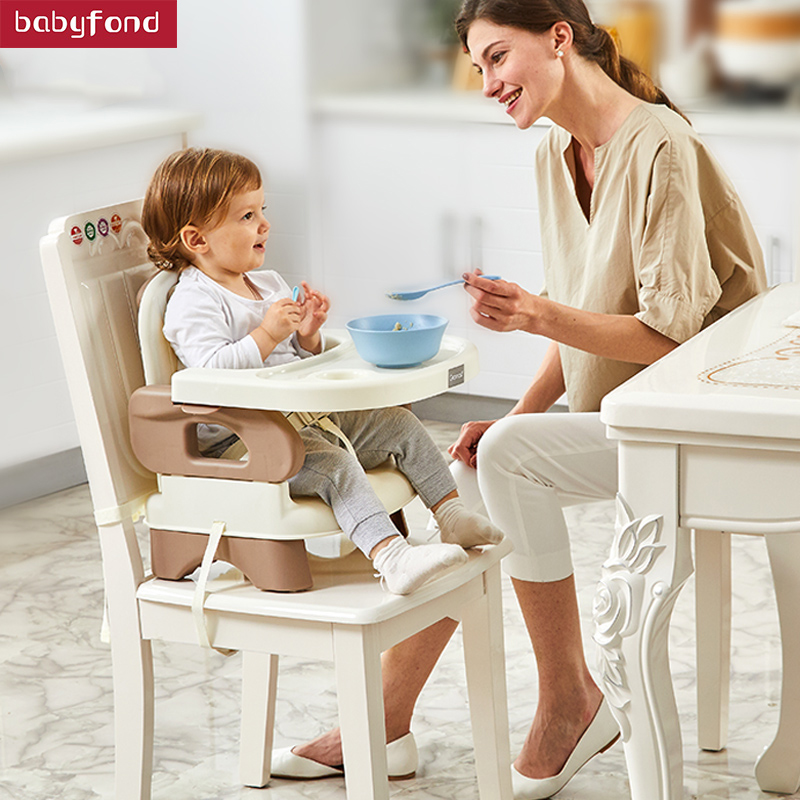 Gromast Portable Baby Dining Chair, Children Table, Multi-function Eating Folding Seat baby seat folding dining chair for children eating multifunctional portable baby chair for children aged 0 4 years table
