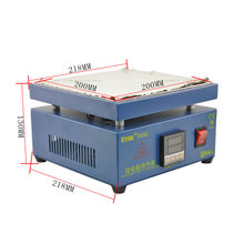 Electronic Plate Preheating Station For PCB SMD BGA Preheater Digital Thermostat Platform Heating Plate Preheating Station Uyue(China)