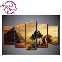 custom diamond painting eigen foto Egyptian Pyramids Sphinx jesus mandala Peacock diamond painting kerstkaarten christmas cards