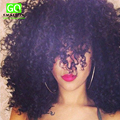 Gaga Queen Hair Malaysian Curly Hair 4Pcs/lot Model Malaysian Virgin Hair Natural Kinky Curly 7A Malaysian Afro Kinky Curly Hair
