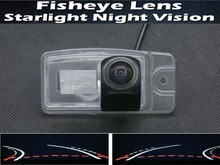 1080P Fisheye Lens Trajectory Tracks Parking Car Rear view Camera for Nissan X-Trail X Trail 2014 2015 Reverse Car Camera factory promotion special car rear view reverse camera backup rearview parking for nissan qashqai for nissan x trail x trail