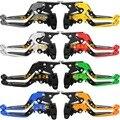 8 Cores Para a Kawasaki Z750 (não Z750S)/Z800/E versão Da Motocicleta Alavancas Ajustáveis Folding & Estendendo alavancas de Freio de Embreagem Alavancas