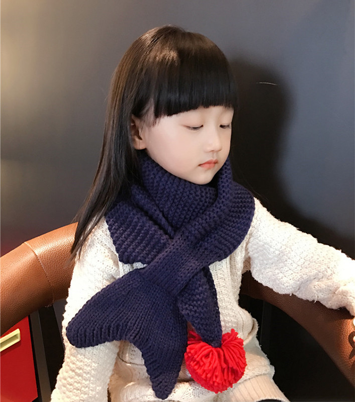 Kids-Scarf-Beautiful-Fish-Tail-Scarves-Girls-Little-Merma-Scarf-Knitted-Crochet-Collar-Girls-Neckerchief-Scarf