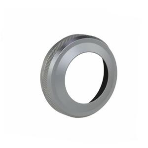 Image 3 - Tam Metal Ultra ince Lens Hood Adaptör Halkası Iplik Tasarımı Fujifilm Kamera için X70 X100T X100S X100