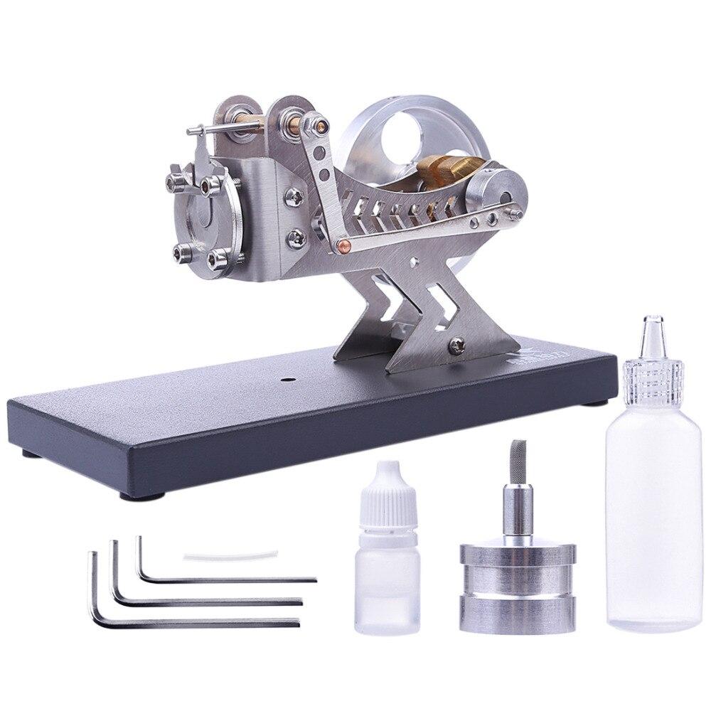 Alle metall Vakuum Stirling Motor DIY Heißer Gas Turbine Stem Dampf Motor Modell Set Frühe Lernen Modell Spielzeug Für kinder-in Modellbau-Kits aus Spielzeug und Hobbys bei  Gruppe 1