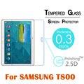 """9 h 2.5d 0.3mm protector de vidrio templado para samsung galaxy tab s t800 t805 10.5 """"tablet pc anti-añicos protector de pantalla de cine"""