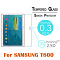 "9H 2.5D 0.3MM tempered glass Protective For Samsung Galaxy Tab S T800 T805 10.5""tablet pc Anti-shatter LCD Screen Protector Film"