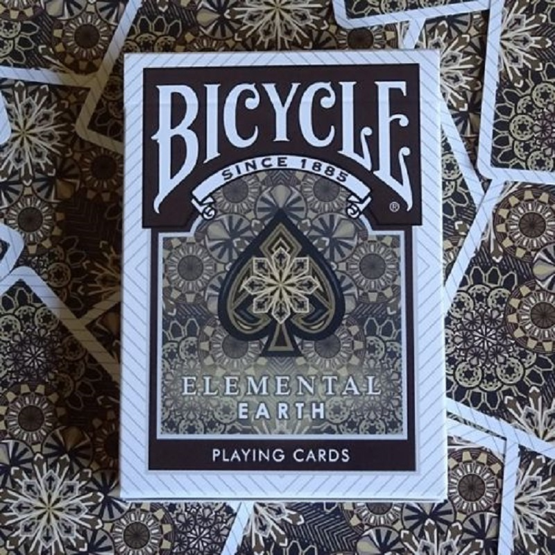 Bicycle Elemental Earth Playing Cards Collectable Poker USPCC Limited Edition Deck Magic Cards Magic Tricks Props for Magician