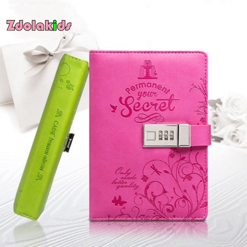 Password Journal Just 19 97: Diary With Lock Pu Leather Cute Travel Journal Notebook-in