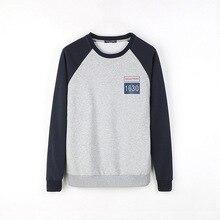 Brand New Fall Mens 2016 Men Sweater Sweater Stitching T-shirt Male Personality Digital Men's Sweater