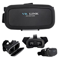 Google Cardboard VR BOX Virtual Reality 3D Movie Glasses Headset for iOS 5 5c 5s 6 6s Plus Android Samsung S6 S7 Edge SmartPhone