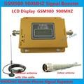 Display LCD! GSM 900 MHZ GSM 980 Mobile Phone Signal Repetidor Impulsionador Sem Fio, kit Amplificador de Sinal de Telefone celular com antena