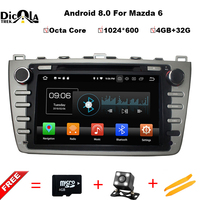 Android 8 0 4 32G Octa Core IPS Car DVD GPS For Mazda 6 Ruiyi Ultra