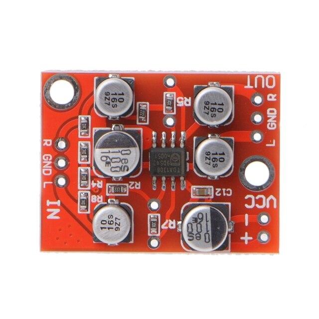 DC 5V 15V 12V AD828 Stereo Preamp Power Amplifier Board Preamplifier Module