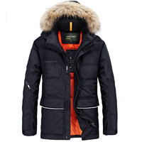 M 4XL Plus Size 2016 Jackets Army Autumn Winter Warm Men Duck Down Jackets And Coat