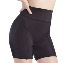 bad724167b5 Womens Hip Booster Fake Ass Underwear Butt Lifter Enhancer Buttock Boxer  High Waist Plus Size Safety Padded Panty Girdle Black