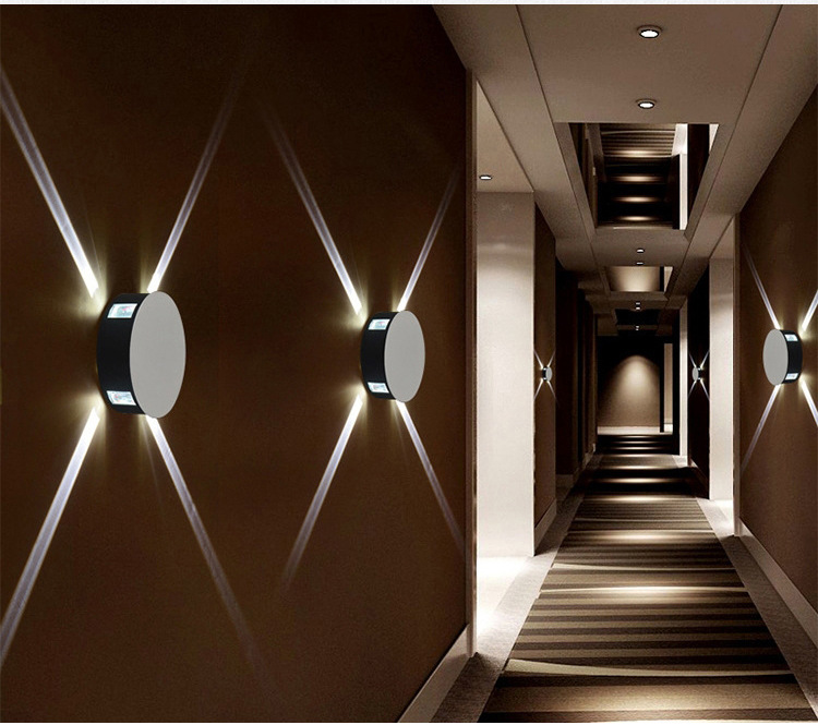 HTB1SXSkrWmWBuNjy1Xaq6xCbXXa6 - Modern creative aisle round square wall lamp bedroom bedside corridor staircase hotel project LED indoor light