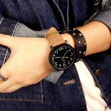 Quartz Watches For Men Women Hot Selling Leather Wrist Watches Gift Fashion Casu