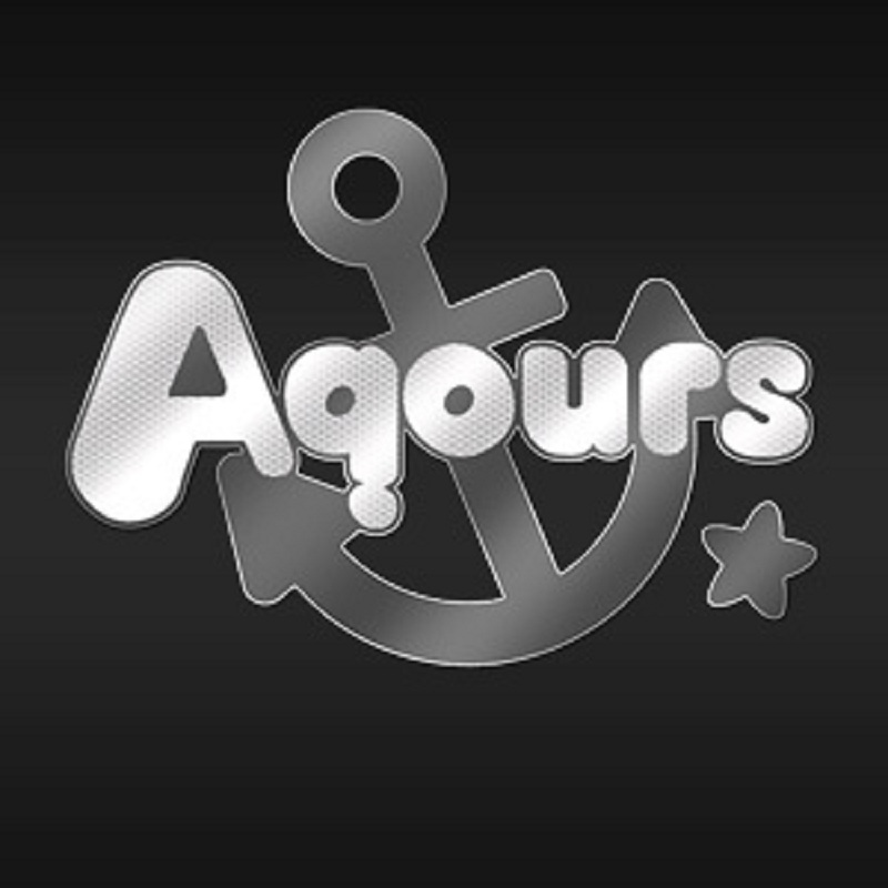 New DIY Cartoon Metal Sticker Anime Love Live Sunshine Aqours Decal Stickers Phone Laptop Stickers Toy in Stickers from Toys Hobbies