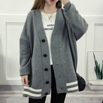 Batwing Sleeve Loose Knitted Sweater