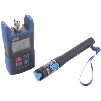 TL510C -50~+26dB FC SC Connector Handheld Optical Power Meter with TL532 Red Laser Visual Fault Locator 1mw