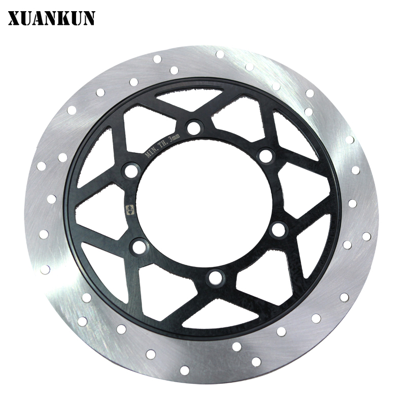 XUANKUN Motorcycle KPS200 / KPR150 Front Brake Disc starpad for lifan motorcycle lf150 10s kpr150 new front brake discs accessories