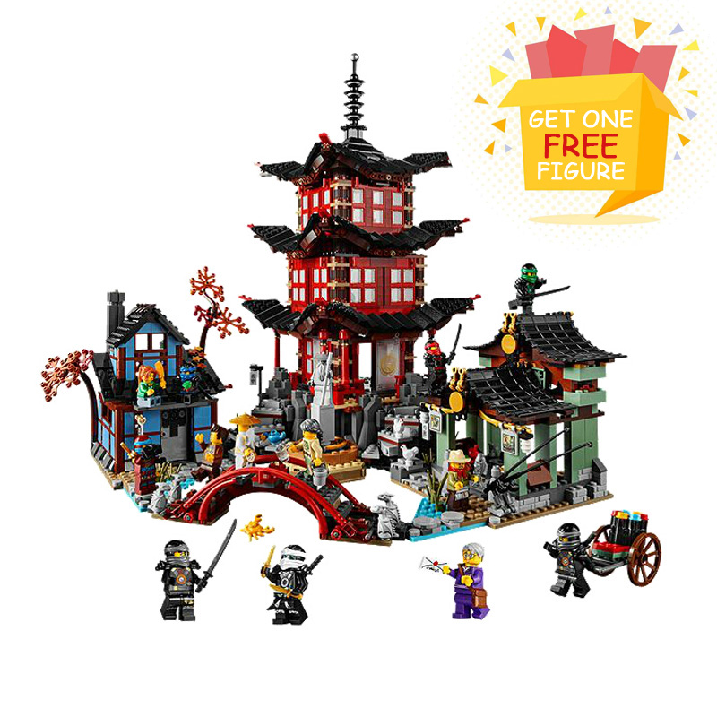 Bela Pogo Compatible Legoe 2150pcs Temple Of Airjitzu 70751 Ninjagoe Thunder Swordsman Building Blocks Bricks toys for children bela bl10322 compatible legoe ninjagoe thunder swordsman building blocks bricks toys