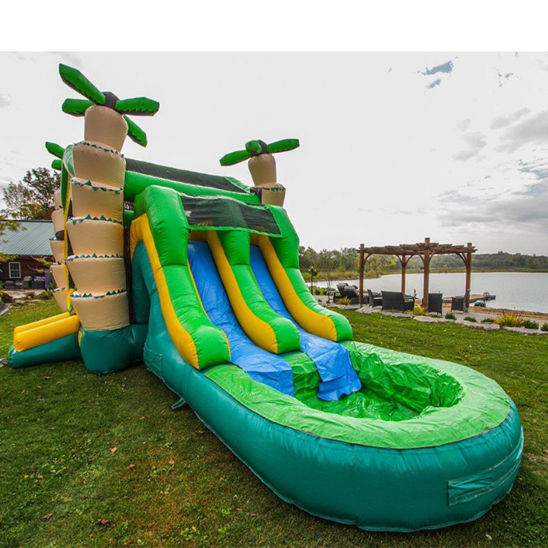 Factory price PVC tarapulin slide inflatable amusement park slide for saleFactory price PVC tarapulin slide inflatable amusement park slide for sale