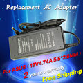 19V 4.74A 5.5*2.5mm 90W For ASUS AC Adapter Laptop Charger ADP-90AB ADP-90CD DB A46C M50 X43B S5 W7 F25