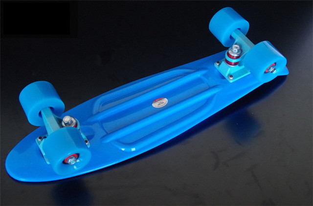 good cheap price penny board nickel trucks strong bearing longboard