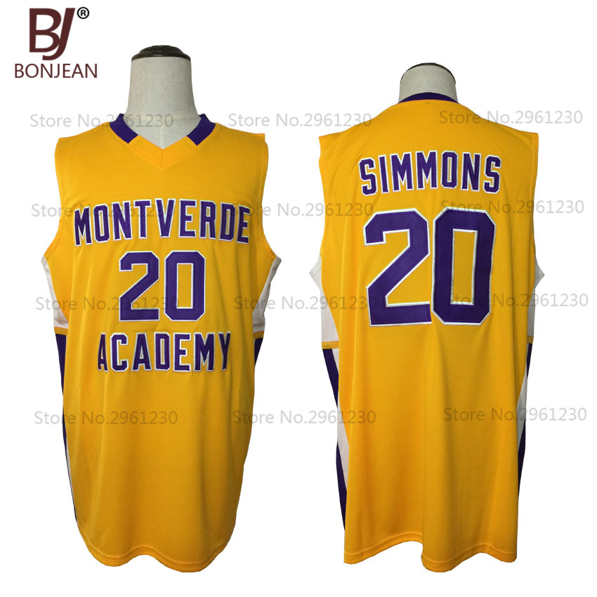 superior quality f3cc3 8334c Buy ben simmons montverde and get free shipping on ...