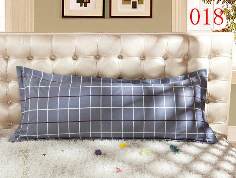 Federe Per Cuscini Lunghi.Casa 1 Pz Cotone Doppie Federe Lunghi Fodere Per Cuscini Cuscino