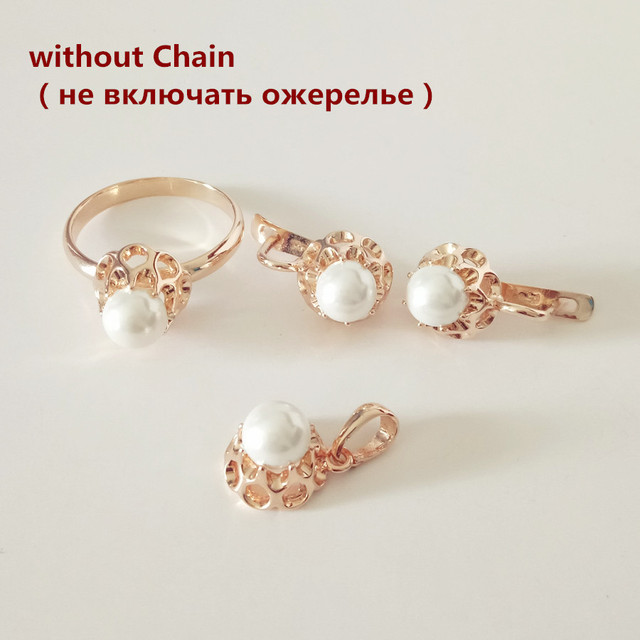 Rose Gold Pearl Jewelry...