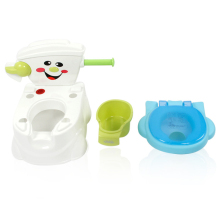 2018 Baby Potty Toilet Training Seat Portable Plastic Child Potty Trainer Kids Indoor WC Baby Potty Chair Plastic Children's Pot