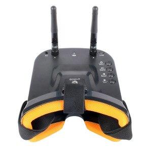 """Image 5 - 5.8G FPV LST 009 3 calowe dwuantenowe okulary wideo 3 """"40CH Mini gogle FPV dla RC Racing Drone Racers FPV skrzynia biegów akcesoria"""