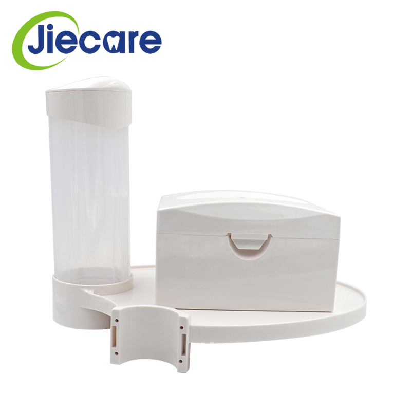 Image 2 - 1 Set Dentistry Parts Dental Chair Scaler Tray Placed Additional Units Disposable Cup Storage Holder With Paper Tissue Box-in Teeth Whitening from Beauty & Health