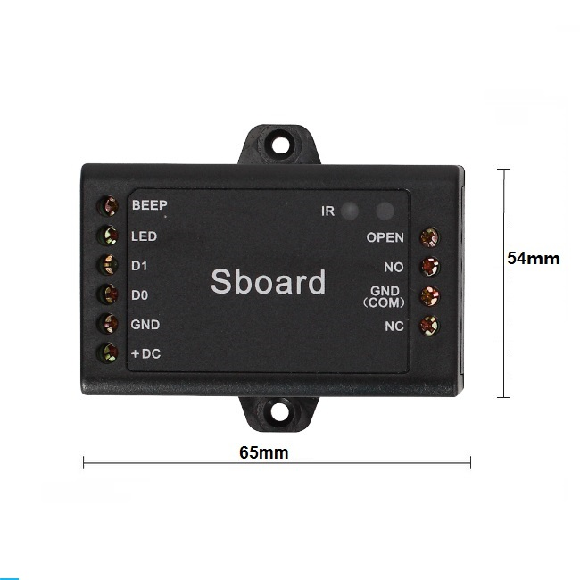 все цены на Sboard Mini Access Controller can compatible with Long Distance Rfid Reader fingerprint reader long distance reader