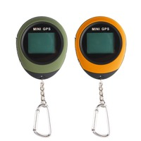 Mini GPS Tracking Device Portable Handheld Keychain Tracker Pathfinding Locator Compass for Outdoor Sport and Travel #277931