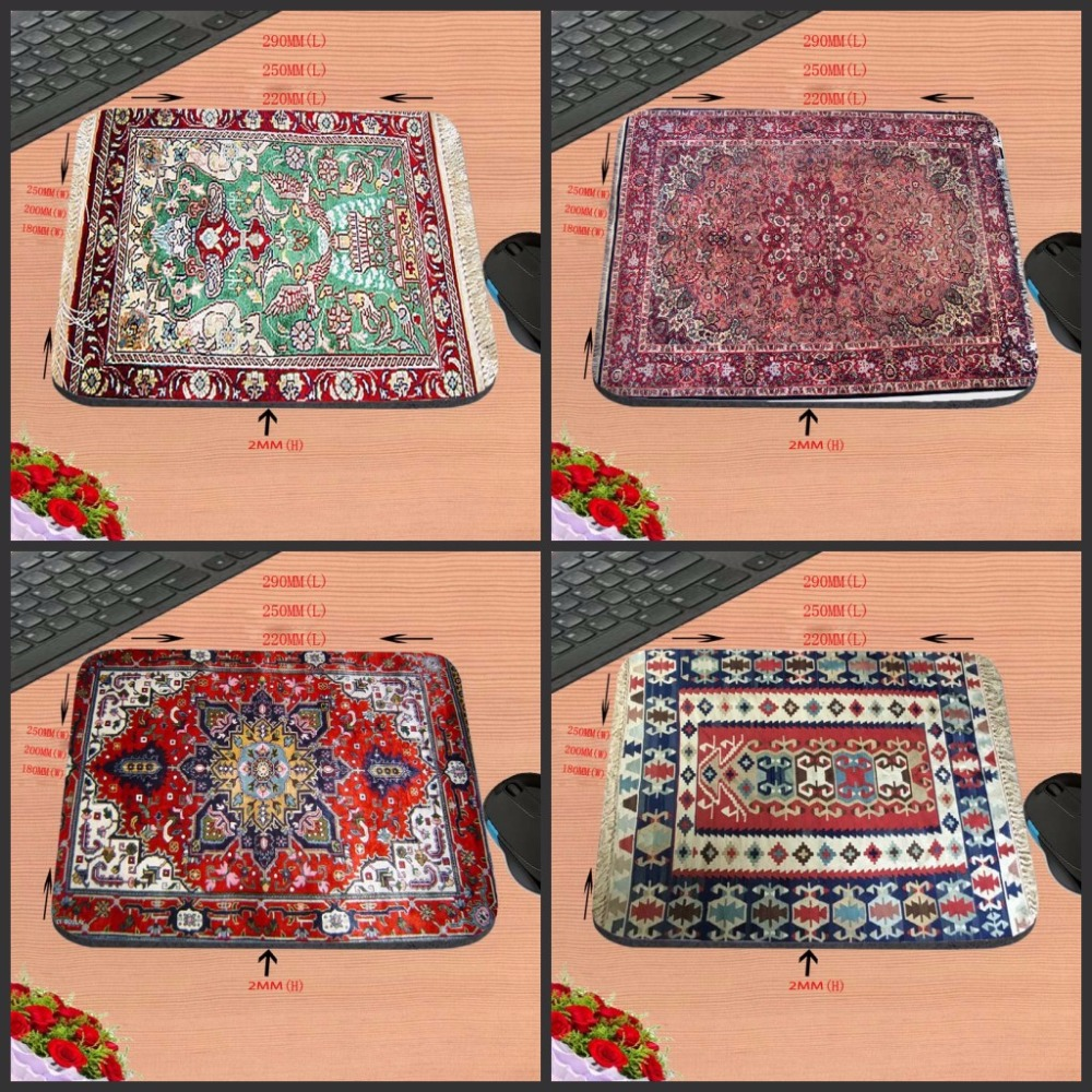 The Carpet Of Fashion Top Selling Silicon Anti-slip Mousepad Computer Gaming Rubber Mouse Pad Mat 22x18cm/ 25x20cm/25x29cm